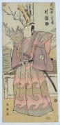 KATSUKAWA SHUN'EI (1762-1819), The kabuki actor Arashi Hinasuke I (Kanō) 1742-96