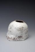 Yagi Kazuo, vessel, glazed stoneware, 1970-1975, Japanese sculpture, Japanese pottery, Japanese ceramics, Japanese contemporary ceramics, Japanese vessel