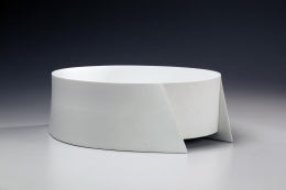 Wada Akira, Japanese white porcelain, Japanese sculpture, ca. 2011