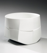 Japanese white porcelain, Japanese porcelain sculpture, 2013