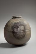 Large rounded wood-firedshigarakivessel, ca. 2000