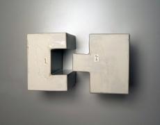 Kondo Takahiro (b. 1958), Four-part, interlocking architectural sculpture with cast glass elements