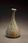 Tsujimura Kai, Japanese stoneware with natural ash glaze, Japanese vessel, 2008