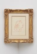 Edouard Manet Tête de femme, drawn circa 1867