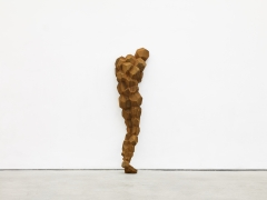 ANTONY GORMLEY, CLEAVE, 2017, cast iron, 68 3/4 x 19 x 16 1/2 inches (174.5 x 48.5 x 42 cm), edition of 5 with 1 AP, AG-3707