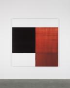 CALLUM INNES, Exposed Painting Crimson Lake, 2018