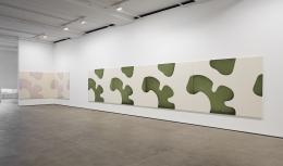Installation view of Landon Metz:Asymmetrical Symmetryat Sean Kelly, New York