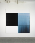 CALLUM INNES, Exposed Painting Delft Blue, 2018
