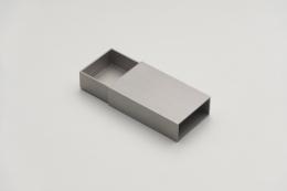MATCHBOX, 2018, stainless steel