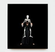 MARINA ABRAMOVIC, Standing with Skeleton, 2008/2016