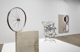 Installation view of Jose Dávila: The Circularity of Desire at Sean Kelly, New York