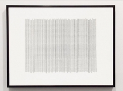 Curtain 6, 2015, graphite on paper