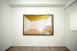Installation view ofJames Casebere: Built Imagesat Sean Kelly Asia