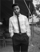 A Young Man at A Tent Revival Meeting, 1989