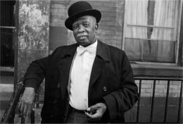 DAWOUD BEY Man in A Bowler Hat, 1976