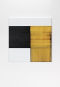 CALLUM INNES  Exposed Painting Quinacridone Gold, 2020