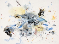 Untitled, 2007 acrylic, mixed media on paper