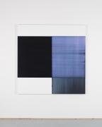 CALLUM INNES Exposed Painting Delft Blue / Violet, 2018