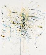Die Geliebte, 2007, acrylic, pencil on paper