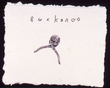 "David Lynch, Untitled (#20, ""Buckaroo"")"