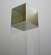 Larry Bell, Untitled (Cube)