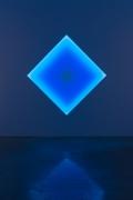 James Turrell  Sunda Strait, Diamonds (Squares on point) Glass, 2015