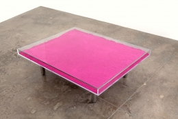 Yves Klein Table Rose, 1961/1963