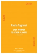 """Exhibition announcement for """"Rosha Yaghmai"""" at Kayne Griffin Corcoran, Los Angeles"""