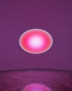 James Turrell Jhuya 20(00), Curved Elliptical Wide Glass, 2018