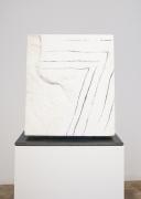 Beverly Pepper, Etched Pentimento (Bianco Assoluto di Carrara), 2007