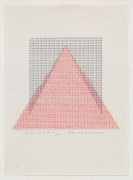 Henri Chopin, The Great Pyramid, 1980