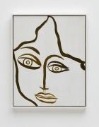Huguette Caland Self Portrait, 1968