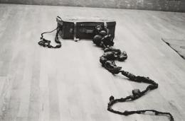 Jiro Takamatsu, On Anti-Reality in Relation to a Trunk, 1962