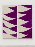 Sarah Crowner Double Violets , 2021
