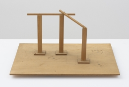 """Jiro Takamatsu, Maquettes of """"The Poles and Space"""""""