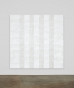 Mary Corse, Untitled (White Multiband, Beveled), 2012