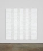 Mary Corse, Untitled (White Multiband, Beveled), 2012