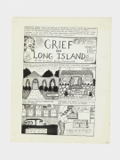 Aline Kominsky-Crumb Grief on Long Island, 1981