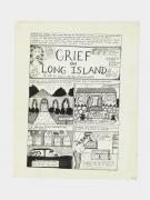 Aline Kominsky-Crumb Grief on Long Island, 1981