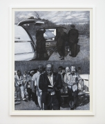 Willie Birch, Country Funeral (Funeral for JD), 2019