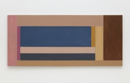 Mary Obering Through Blinds, 1973