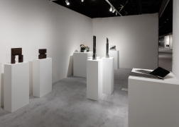 Installation view of Kayne Griffin Corcoran at ADAA: The Art Show, 2019