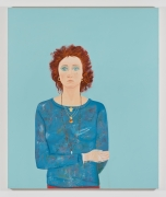Joan Brown, Self Portrait at Age 42, 1980