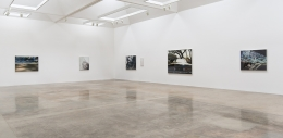 """Installation view of """"Liza Ryan: Wind(shield)"""" at Kayne Griffin Corcoran, Los Angeles"""