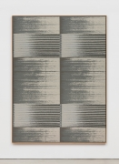 Mika Tajima Negative Entropy (Stripe International Inc., Legal Department, Light Gray, Quad), 2019
