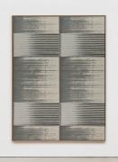Mika Tajima Negative Entropy (Stripe International Inc., Legal Department, Light Gray, Quad), 2019