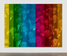 Hank Willis Thomas Society of the Spectacle (Spectrum V) (variation with flash), 2019