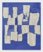Sam Moyer Blue Wall, 2019