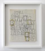 Christina Ramberg,, Untitled (silhouettes), N.D.