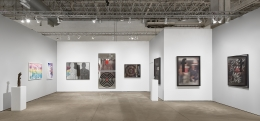 Installation view of Expo Chicago 2019